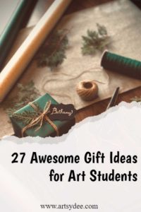 Gifts for art students