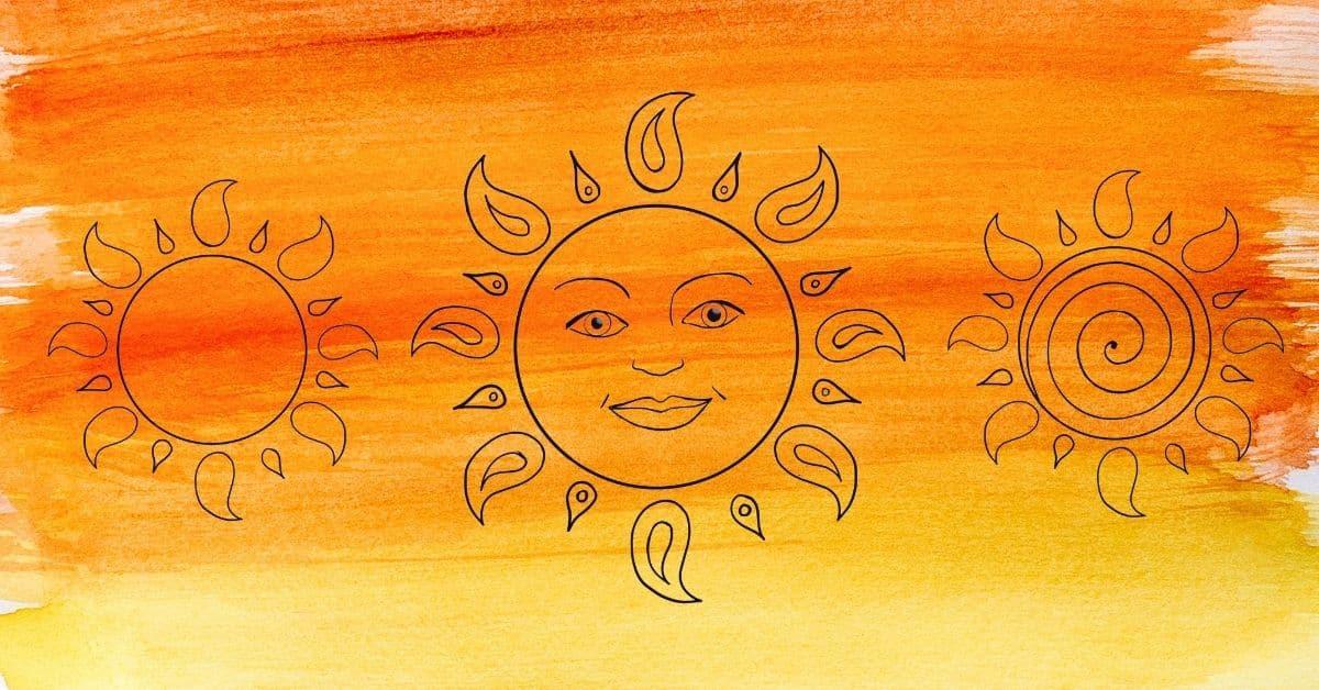 sun template featured image
